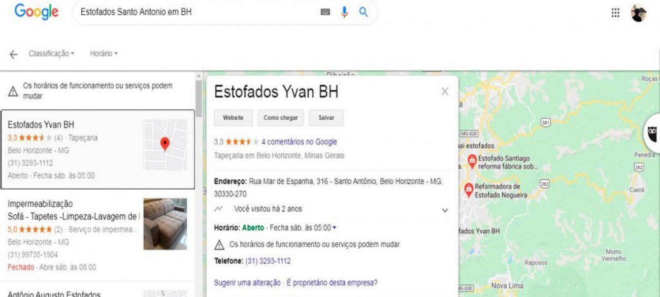 ESTOFADOS YVAN BH