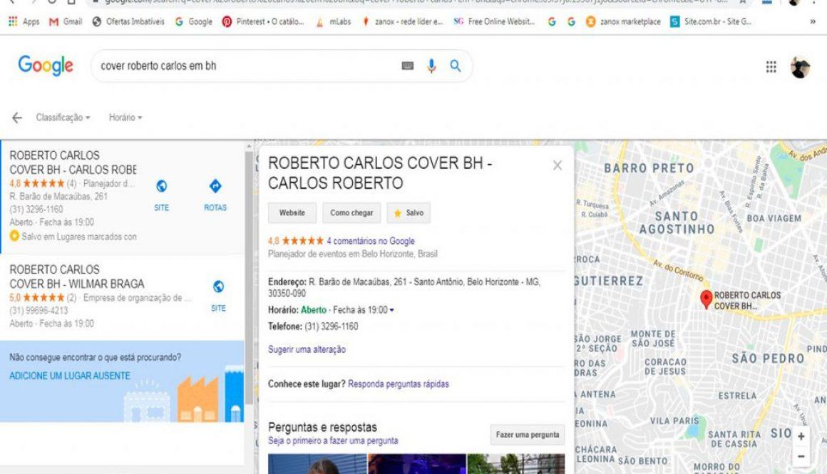 Cover Roberto Carlos BH