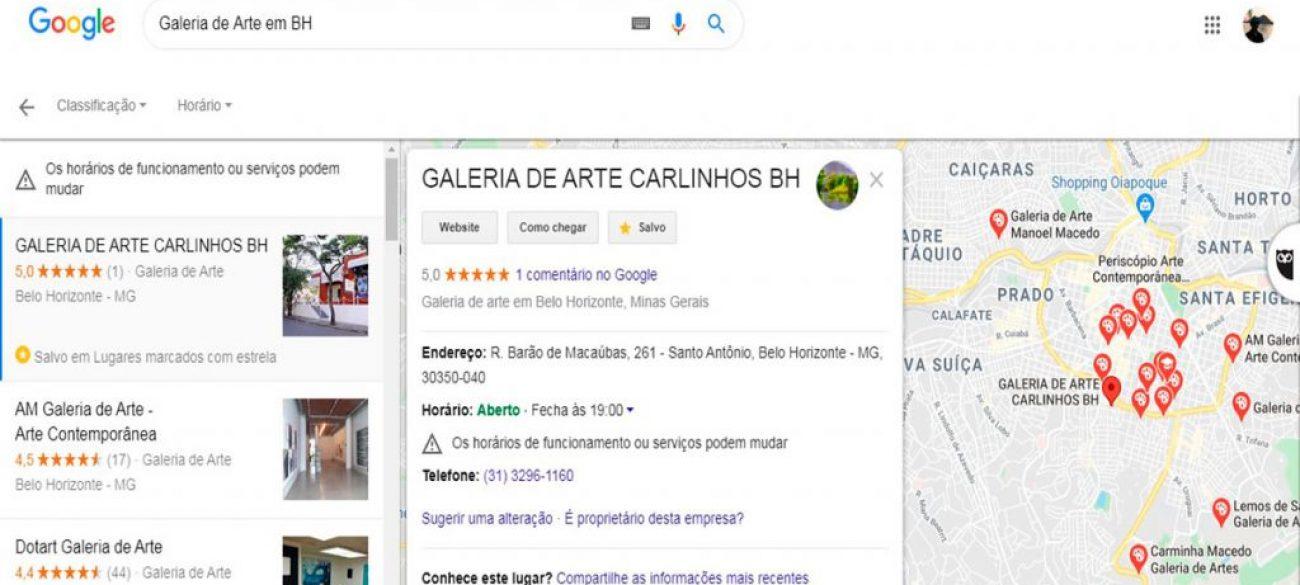 GALERIA DE ARTE CARLINHOS BH