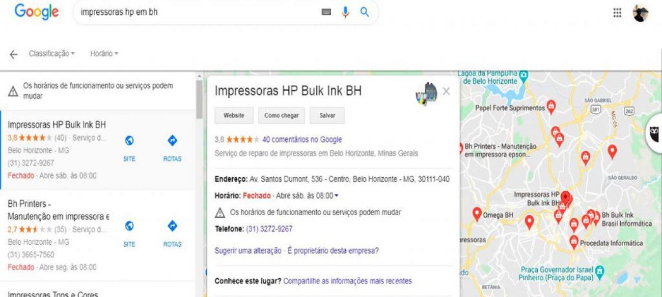 Impressoras HP BulK Ink BH