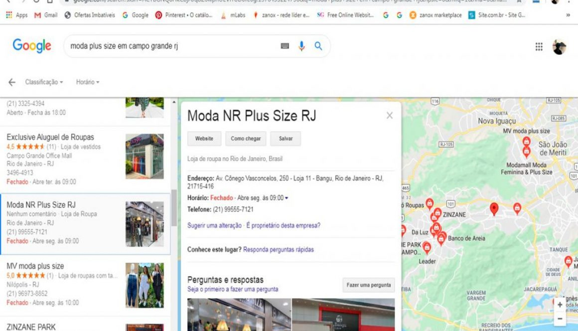 Moda NR Plus Size RJ