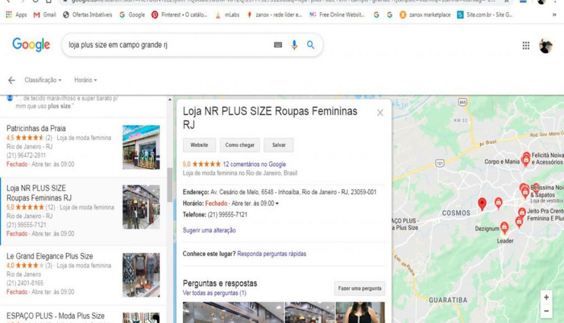 Loja Virtual NR Plus Size RJ