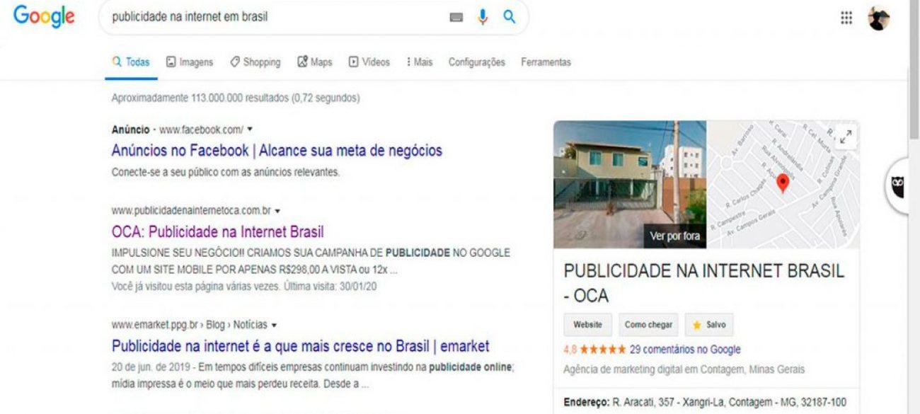 Marketing Digital Brasil - OCA