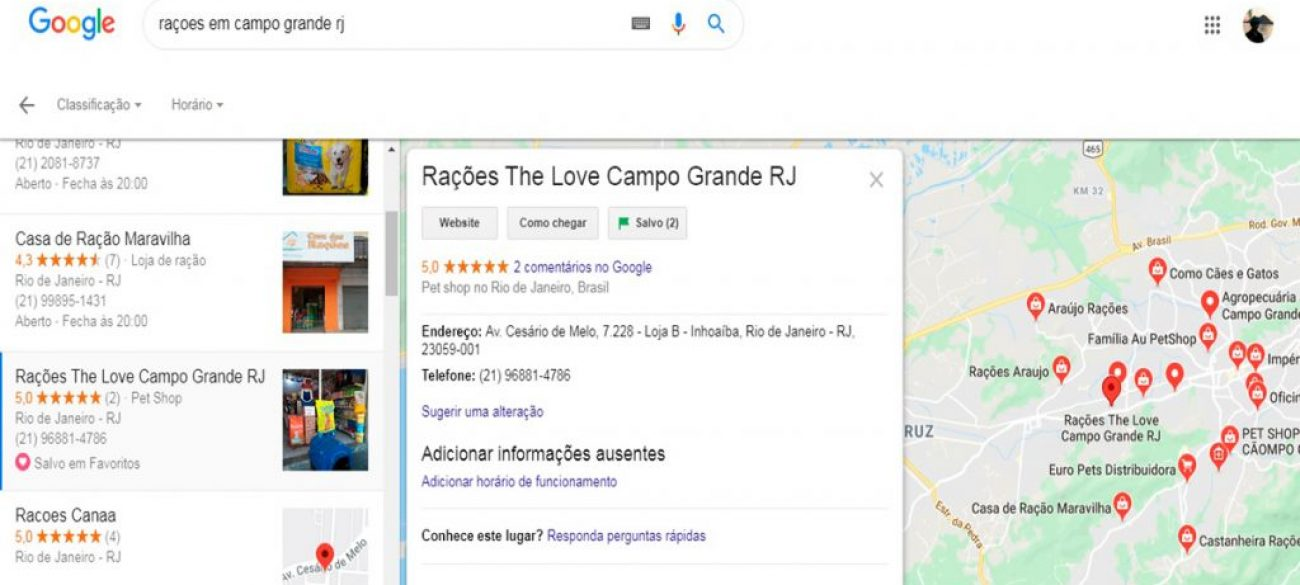 Rações The Love RJ