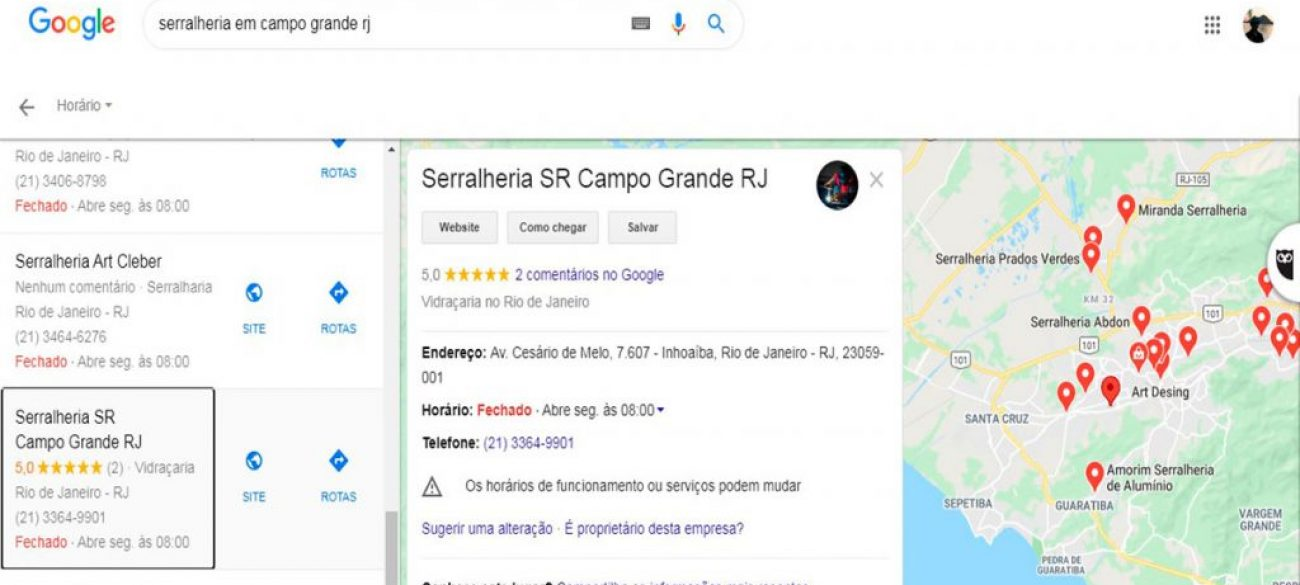Serralheria SR Campo Grande RJ