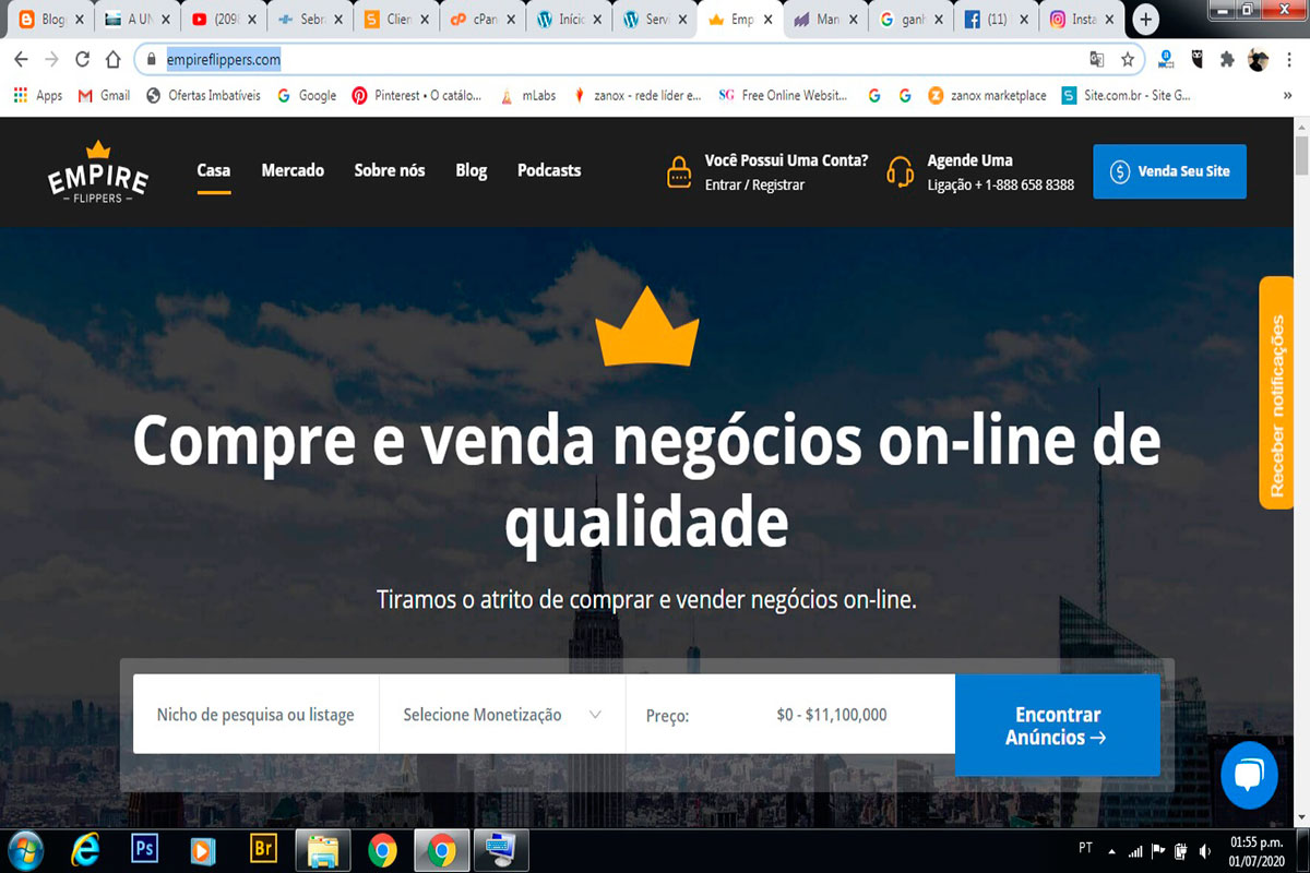 Publicidade Online em Brasil